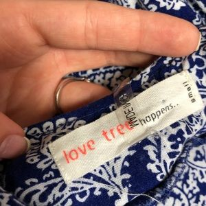 Love Tree Dresses - Love Tree Happens Blue Paisley Mini Dress